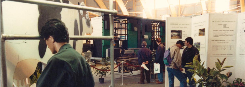 Première plate-forme Recherche et Développement lors du SPACE 1993
