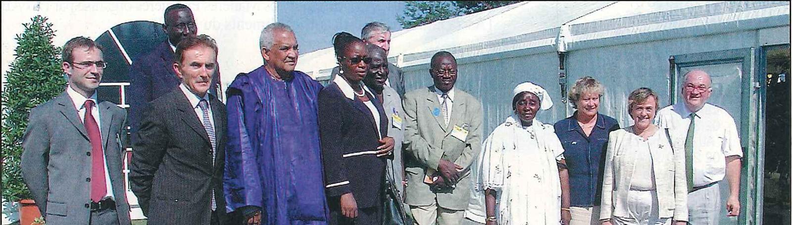 Délégation officielle du Sénégal au SPACE 2005