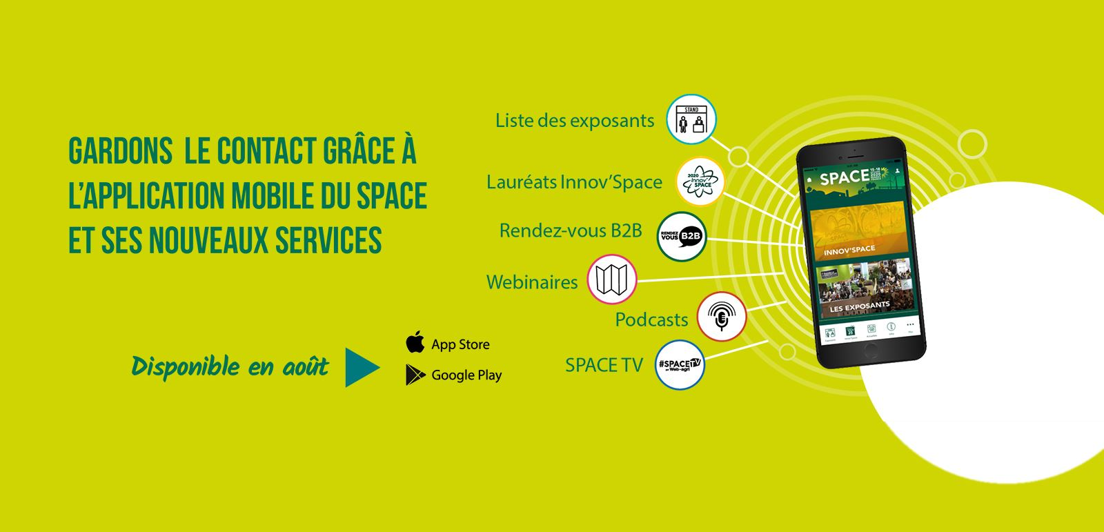Application Officielle Du SPACE 2018