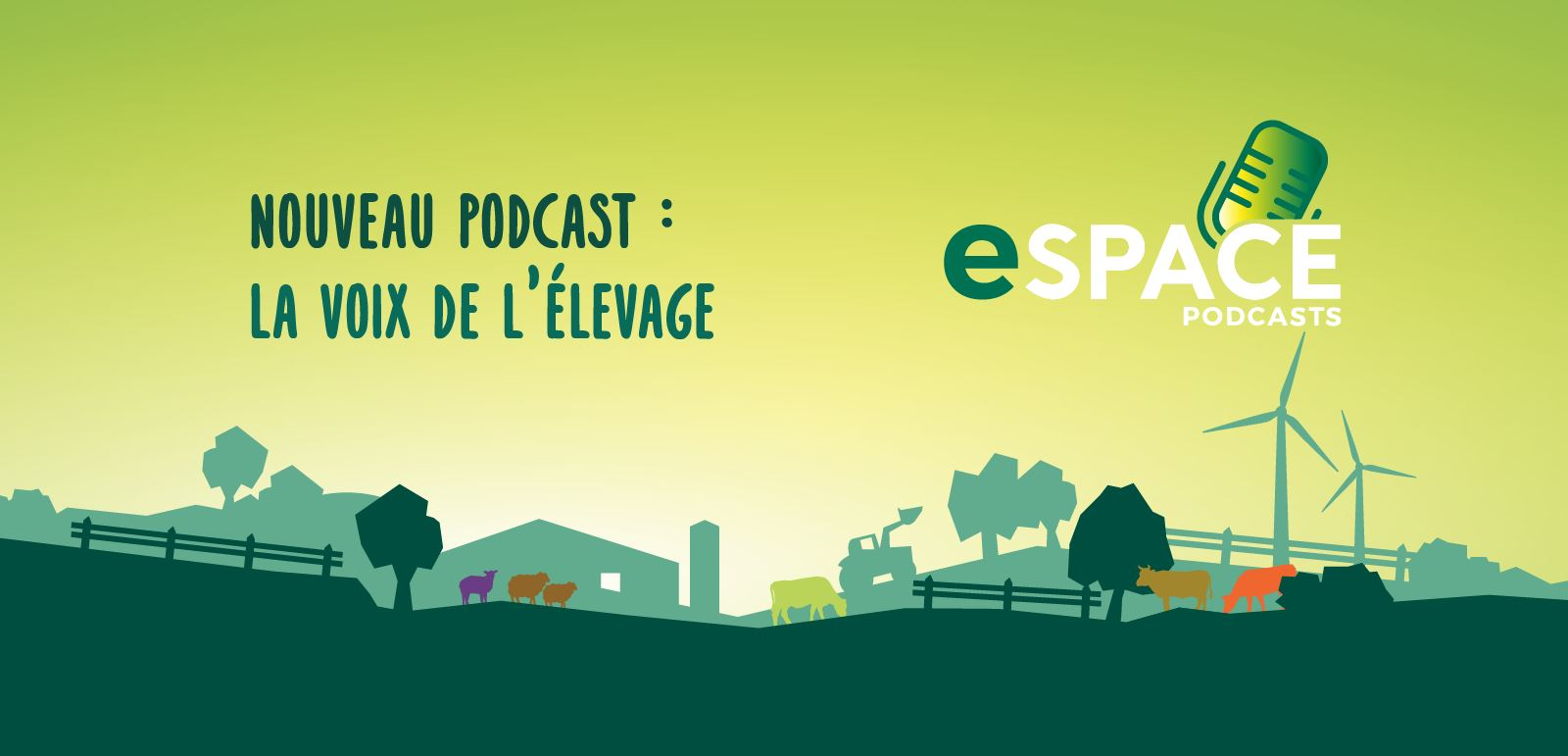 Nouveau podcast disponible