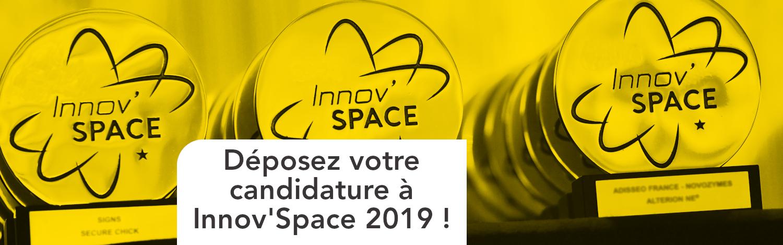 Déposez votre candidature à InnovSpace 2019