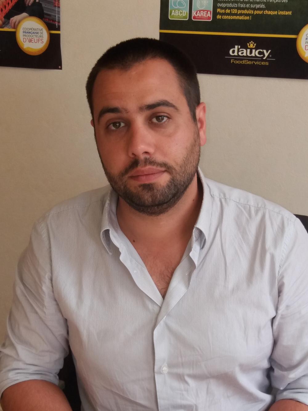 François Dabadie, technicien chez Cecabroons Ponte
