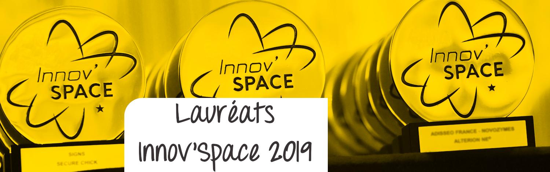 Lauréats InnovSpace 2019