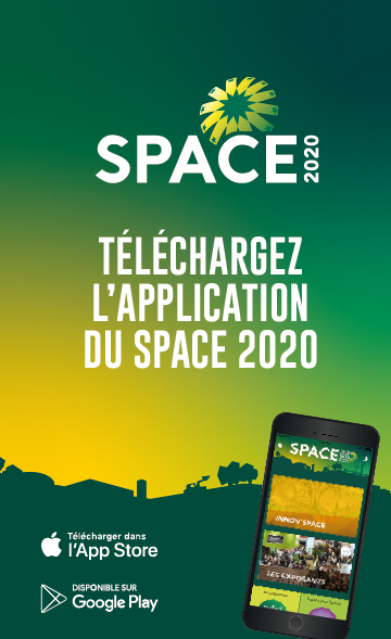 Application mobile du SPACE 2020