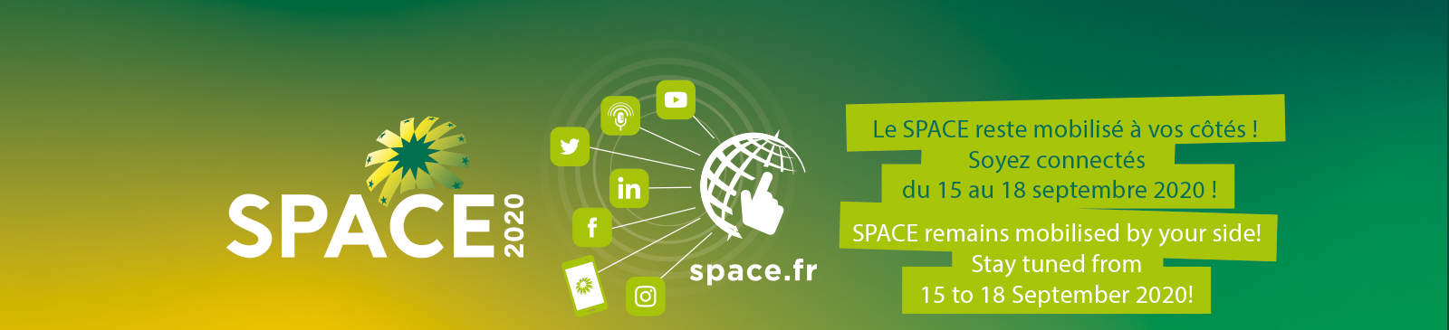 SPACE 2020 online