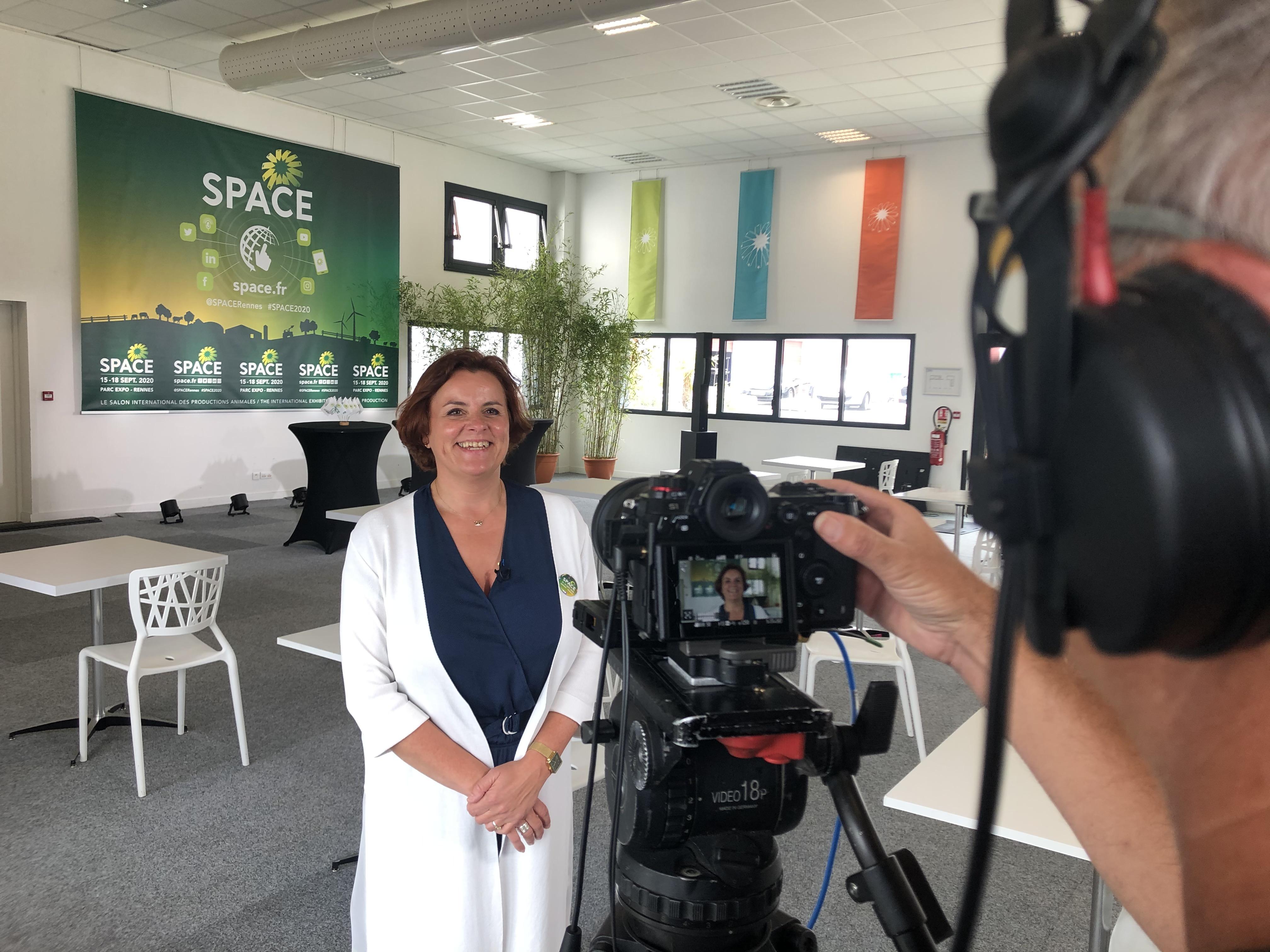 Anne Marie QUEMENER - Conférence de Presse SPACE 2020