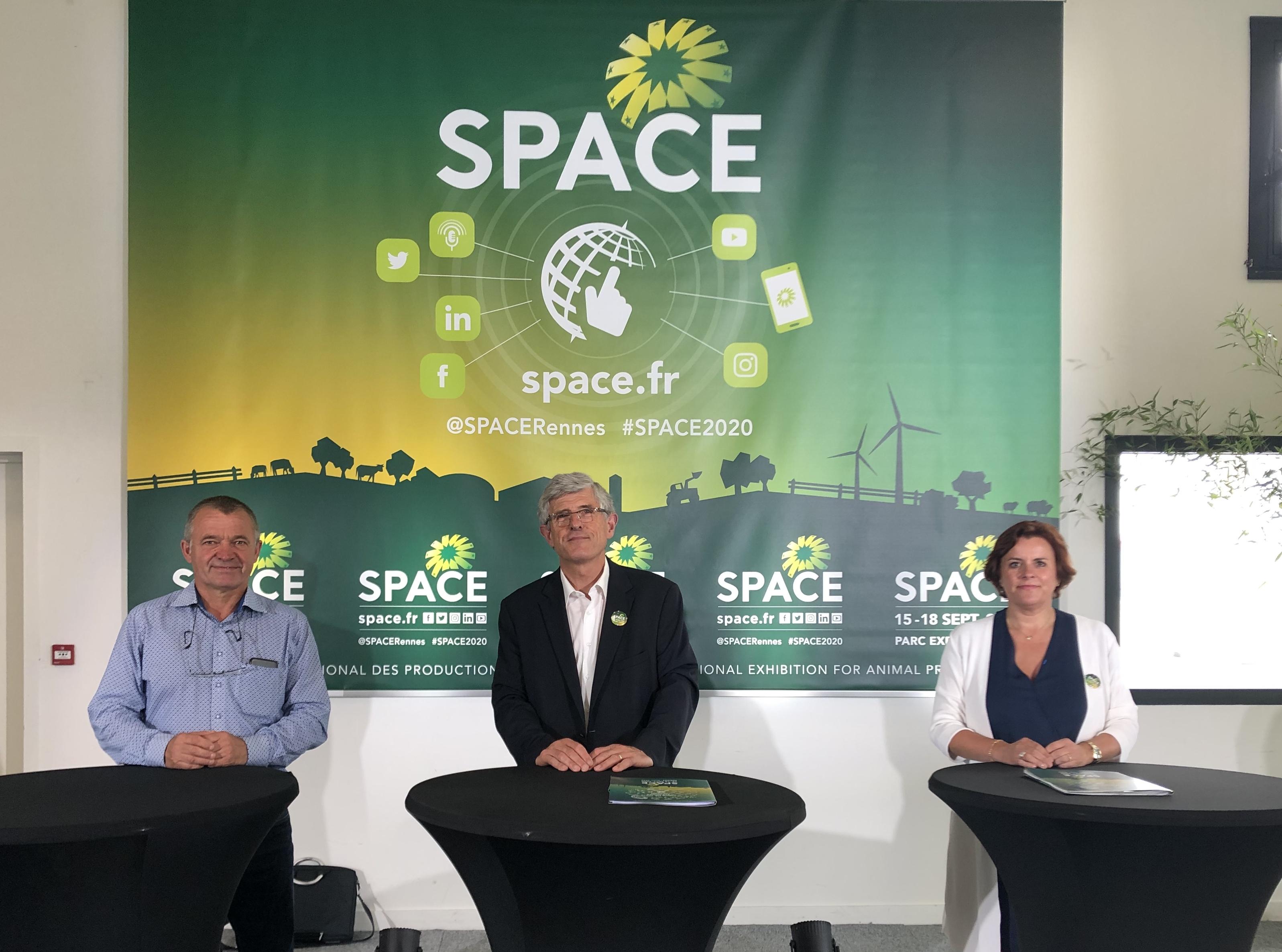 Intervenants Conférence de Presse du SPACE 2020