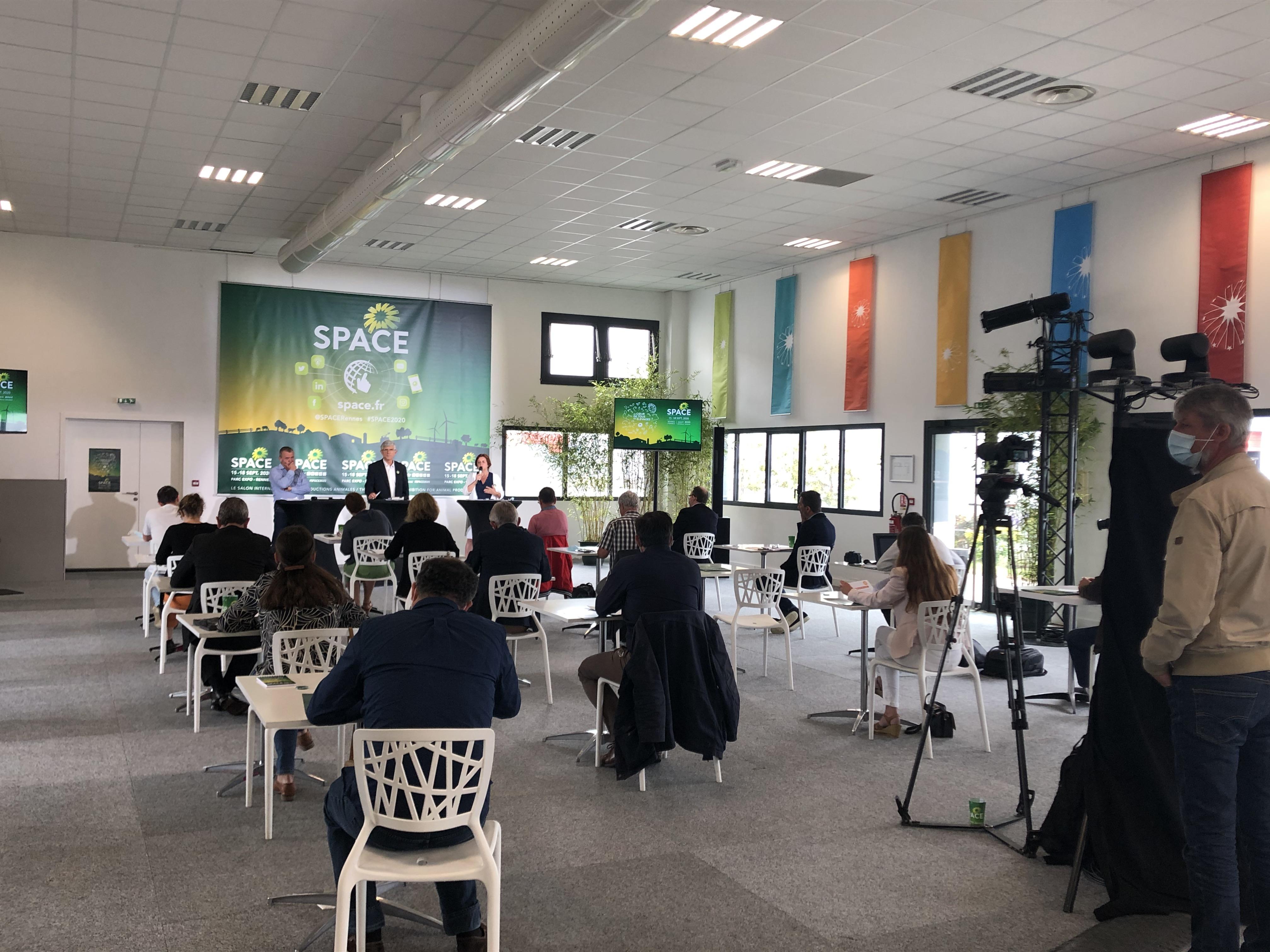Conférence de Presse - SPACE 2020