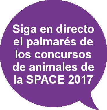 Palmarés de los concursos de animales SPACE 2017