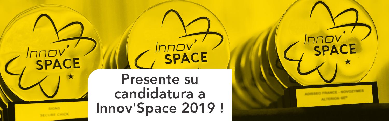 Presente su candidatura a InnovSpace 2019